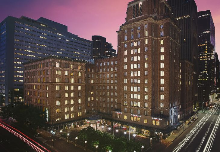 Marriott's new SpringHill Suites in downtown Houston. (Image: Marriott)