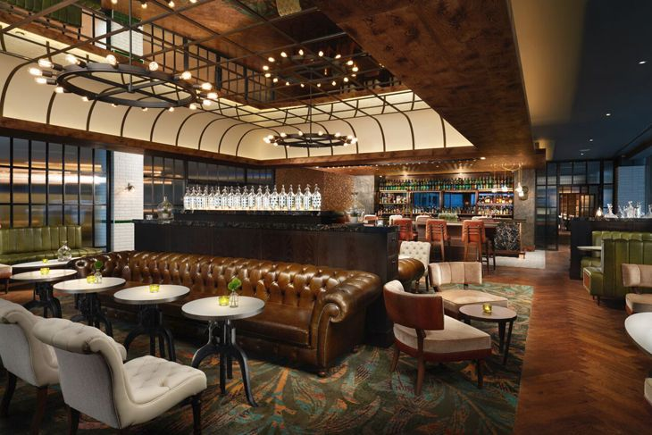 The Distillery Bar at Hilton's new London Bankside hotel. (Image: Hilton)