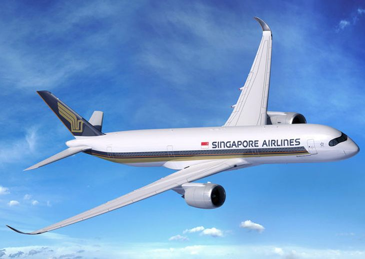 Singapore's long-range A350s will fly non-stop to Los Angeles and New York in 2018. (Image: Airbus)