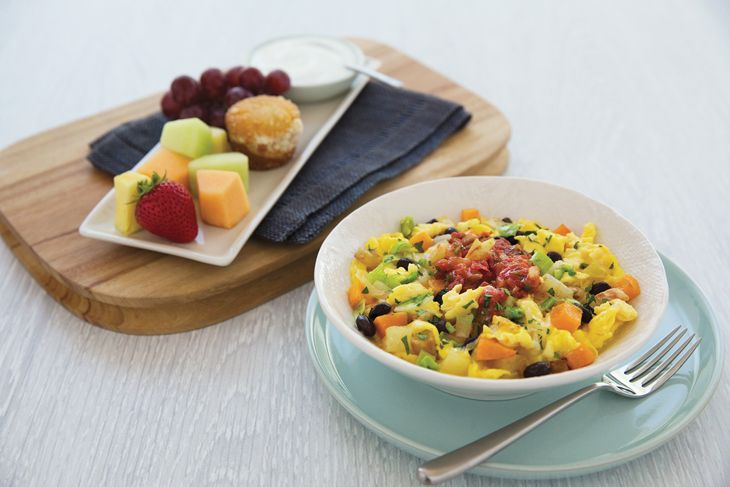 For sale soon in economy: Southwestern bistro scramble. (Image: United)