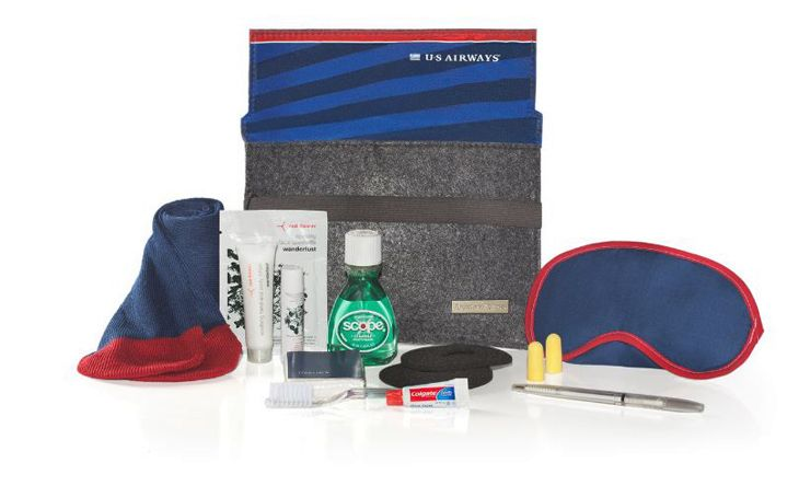 Passengers on the final flight will get special amenity kits. (Image: American Airlines)