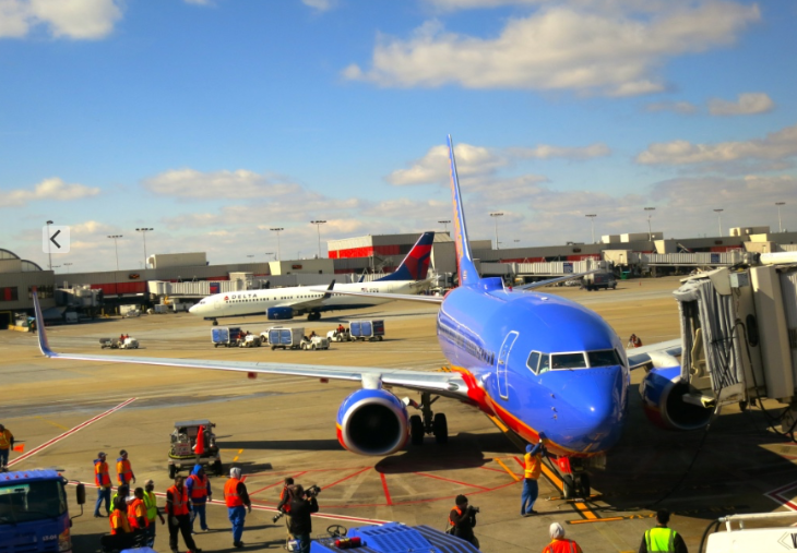 New Southwest Airlines nonstop flights between Atlanta and Oakland start today (Photo: Chris McGinnis)