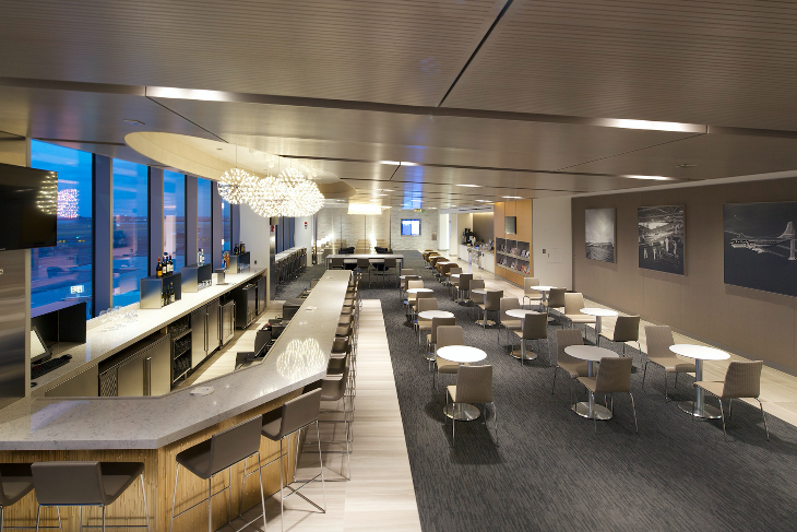 Concept photo of the new United Club in Atlanta (Image: United)