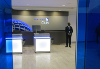 Entry to the new United Club at SFO (Chris McGinnis)