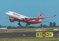 Routes: Airberlin to SFO, LAX; Emirates, Lufthansa, Etihad, Southwest