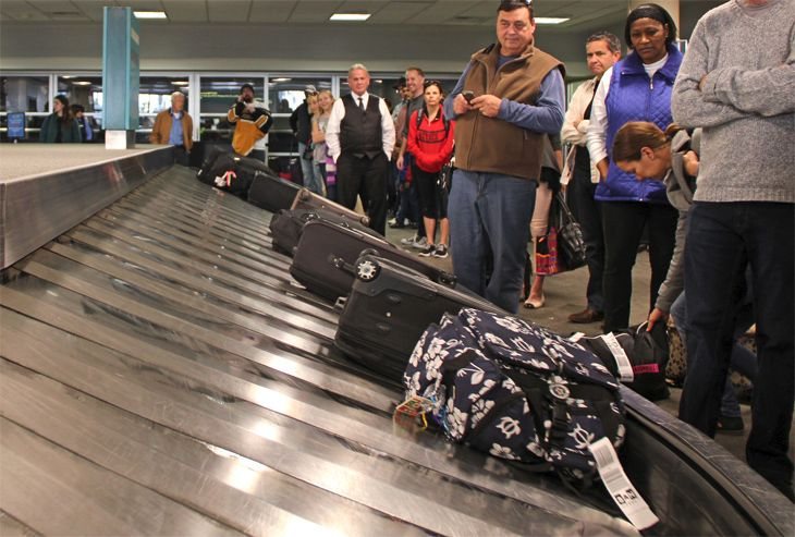 Don't let airlines get away with damaging your checked bag and not compensating you. (Image: Jim Glab)