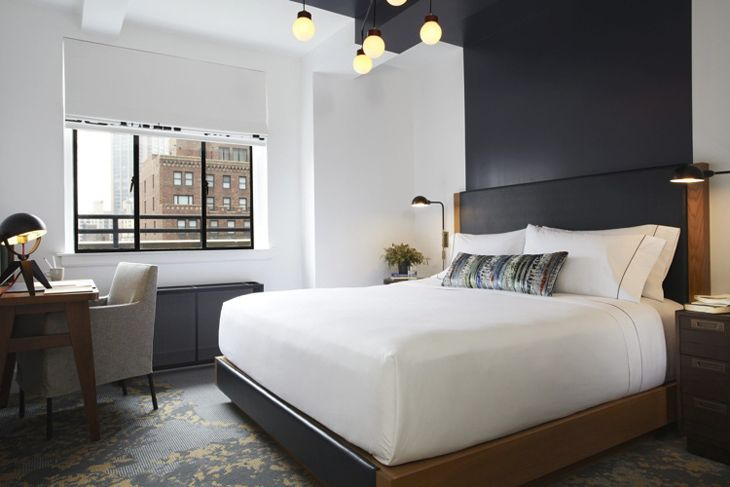 A guest room at The Renwick in midtown Manhattan. (Image: The Renwick)