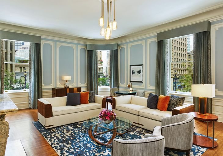The new State Suite at The Palace, Starwood's San Francisco Luxury Collection hotel. (Image: Starwood)