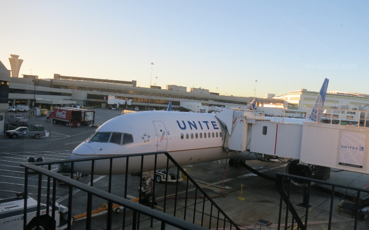 United p.s. Boeing 757-200 at SFO (Chris McGinnis)