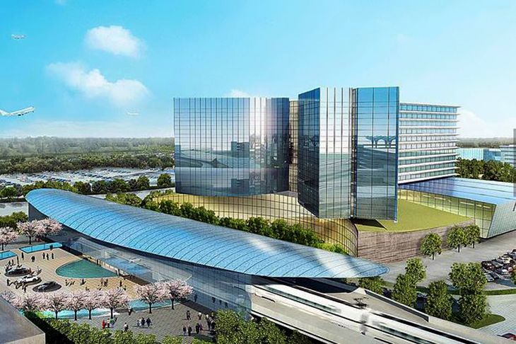 Rendering of the hotel planned for Atlanta's airport. (Image: Atlanta Hartsfield-Jackson Airport)