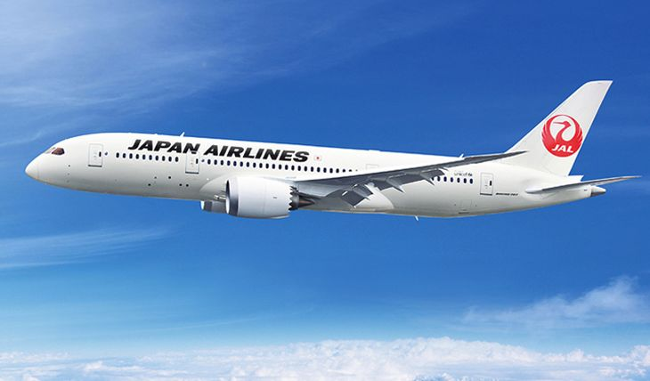 Japan Airlines is using a 787-8 on new Dallas./Ft. Worth-Tokyo service. (Image: Japan Airlines)
