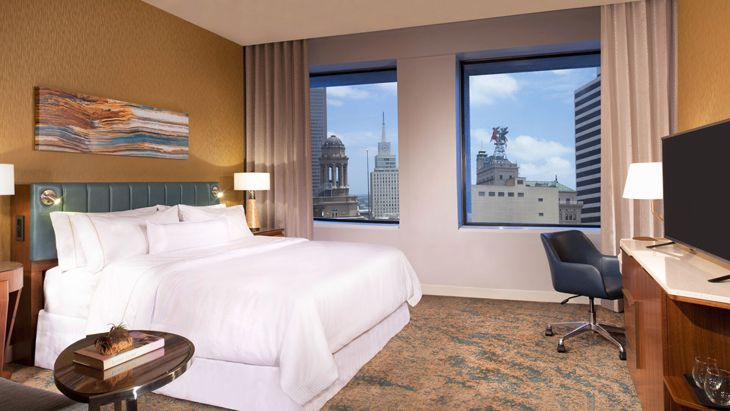 A king room at the new Westin Dallas Downtown. (Image: Westin)