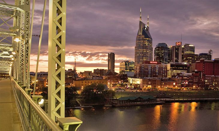 United will start flying to Nashville from San Francisco this spring. (Image: VisitMusicCity.com)