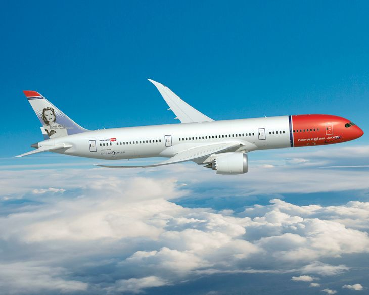 Norwegian reportedly plans new Oakland-London service with a 787. (Image: Creative Commons)