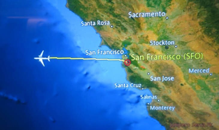Flights across the Pacific getting cheaper, faster (Image: Chris McGinnis)