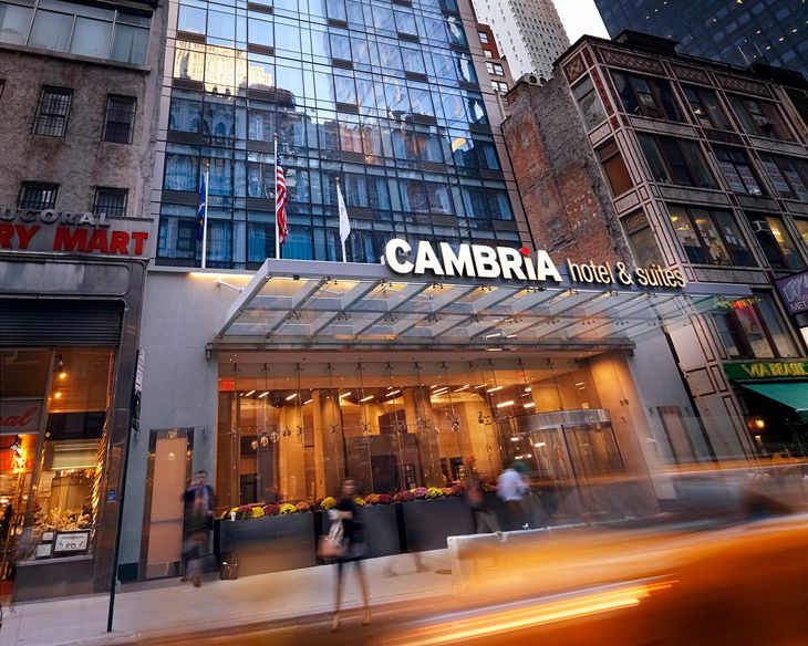 Choice Hotels' new Cambria in midtown Manhattan. (Image: Choice Hotels International)