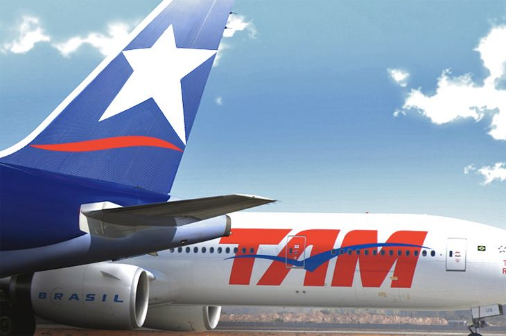 The LATAM Airlines group was created by the merger of LAN and TAM in 2012. (Image; LATAM)