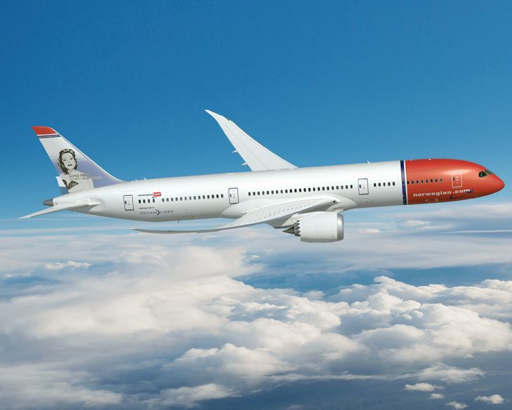 Norwegian started new 787 flights from LAX and New York to Paris. (Image: Norwegian)