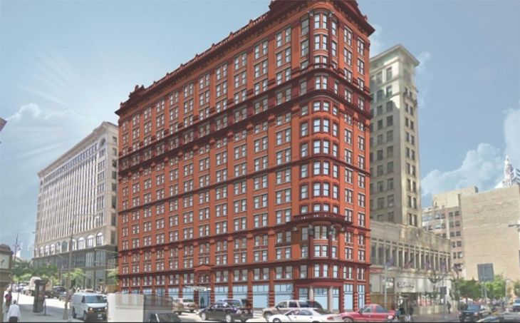 Cleveland's historic Schofield Building is now a Kimpton hotel. (Image: Kimpton)