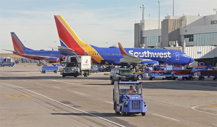 Southwest has added two more California routes out of San Jose. (Image: Jim Glab)