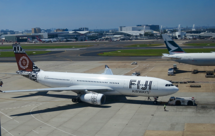 Fiji Airways is SFO's latest coup (Photo: Chris McGinnis)