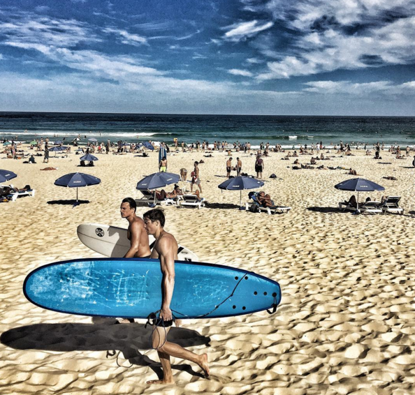 Bondi Beach in Sydney, Australia: Chris's most popular Instagram from last week. CLICK on pic to see all photos & follow