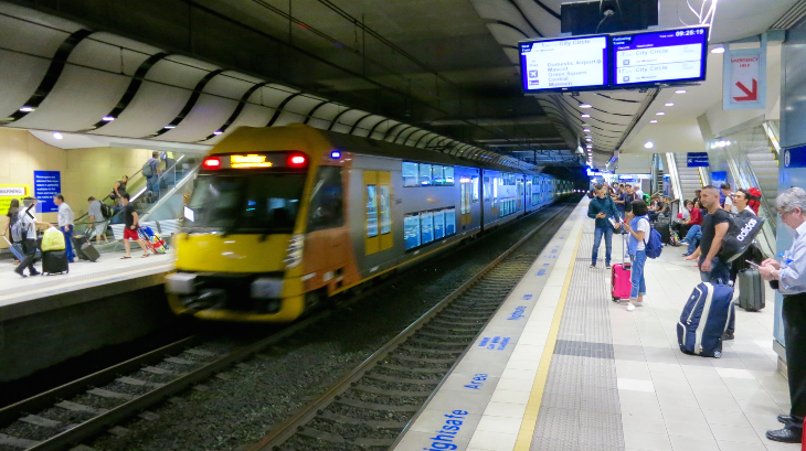 Trains depart for city every 10 minutes from airport station- a 20 minute ride (Photo: Chris McGinnis)