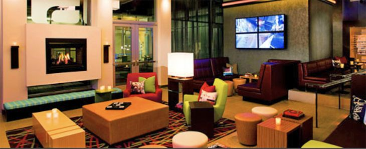 The new Aloft Hotel in Scottsdale has the brand's signature W Xyz Bar. (Image: Aloft Hotels)