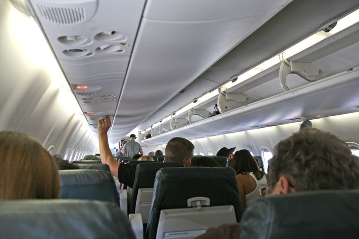 Is it time for the government to regulate airlines' rising passenger fees and cramped seating? (Image: Jim Glab)