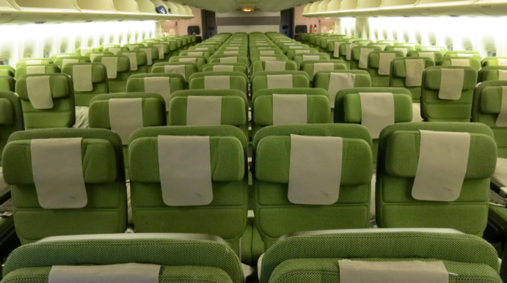 Think airline seats are getting too cramped? Tough. (Photo: Chris McGinnis)