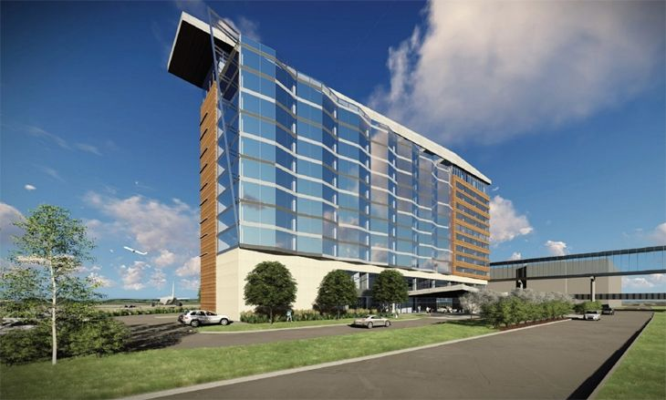 Minneapolis-St. Paul's new airport hotel will be an InterContinental. (Image: Graves Hospitality)