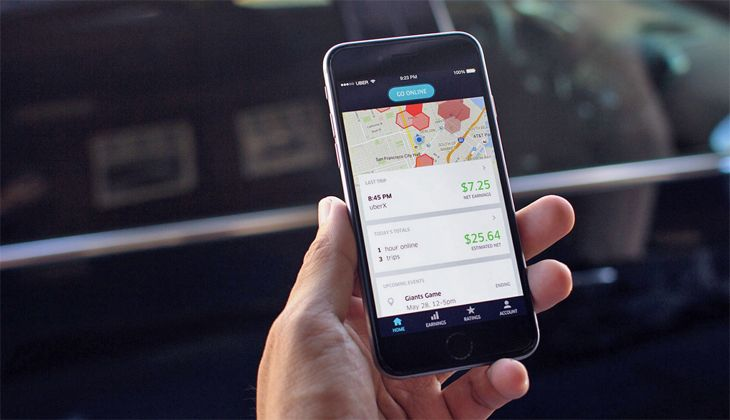 Ride-sharing apps continue to make inroads at airports -- with some exceptions. (Image: Uber)