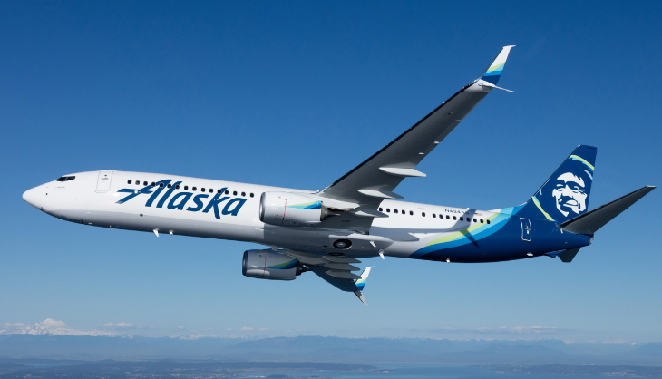 Alaska Airlines 737 New Livery