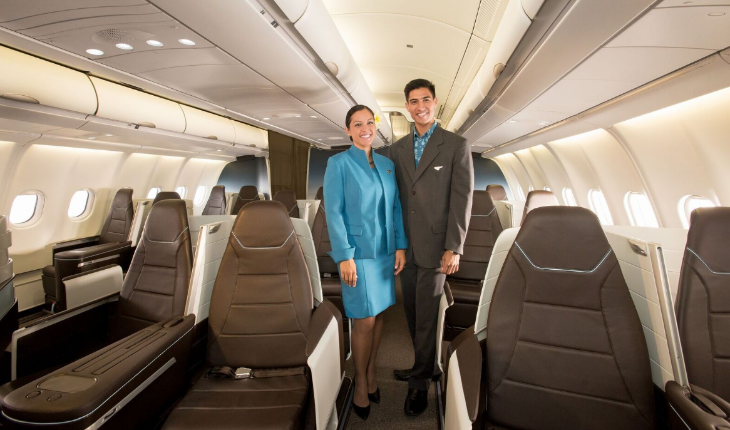 Hawaiian Premium Cabin business class