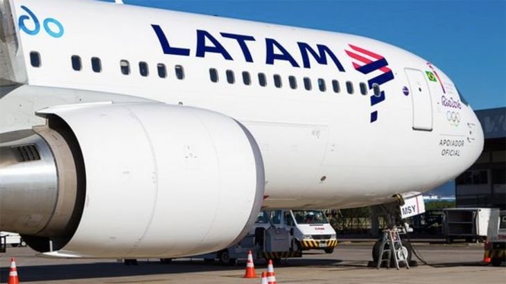A LATAM 767-300 with the carrier's new livery. (Image: LATAM)