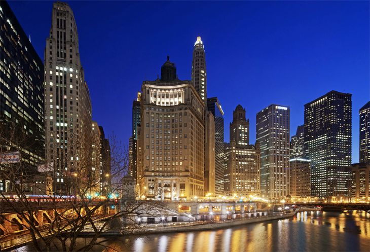 The new LondonHouse in Chicago is at N. Michigan Ave. and Wacker. (Image: LondonHouse)