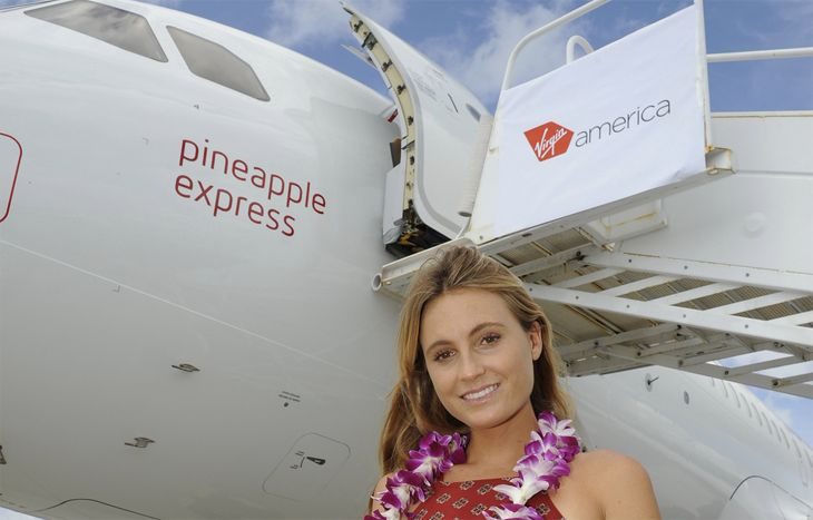 Virgin America has started flying to Hawaii from Los Angeles. (Image: Virgin America)