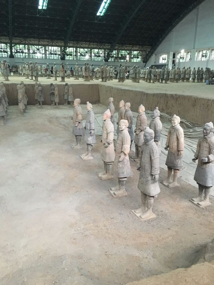 Some of the Terracotta Warriors (Photo: Dan Erwin)
