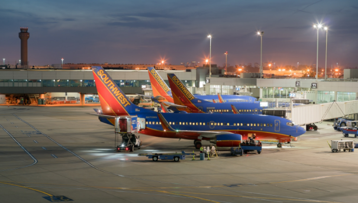 Southwest at Oakland