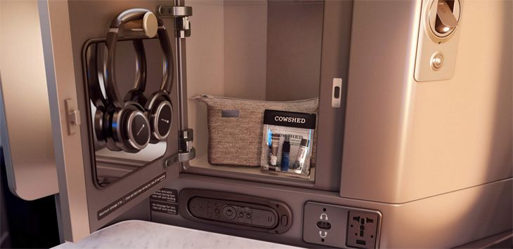 Seats come with innovative storage spaces and new amenity kits. (Image: United)