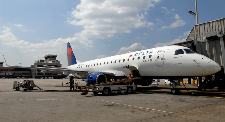 Delta will use E175s for new San Diego-Las Vegas service. (Image: Delta)
