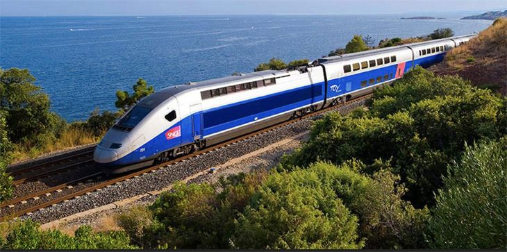 Travelers to France can hop a high-speed TGV train right at Paris Charles de Gaulle Airport. (Image: Rail Europe)