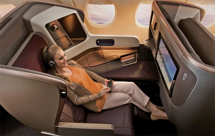 All Singapore's west coast flights will feature its new business class. (Image: Singapore Airlines)
