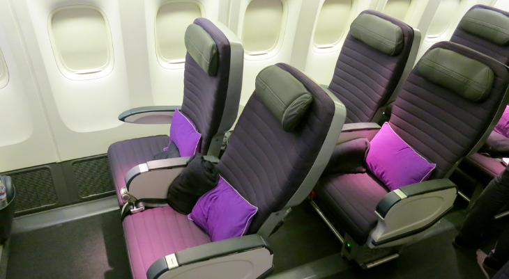 "Don't call it premium economy! On Virgin Australia, it's just ""Premium"" (Chris McGinnis)"