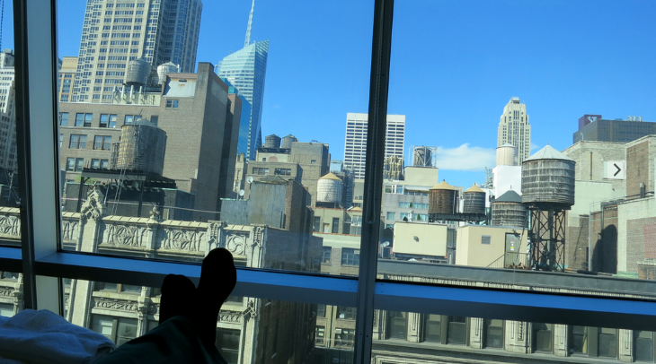 View From My Room At The New Best Western Herald Square In Nyc Photo Chris Mcginnis
