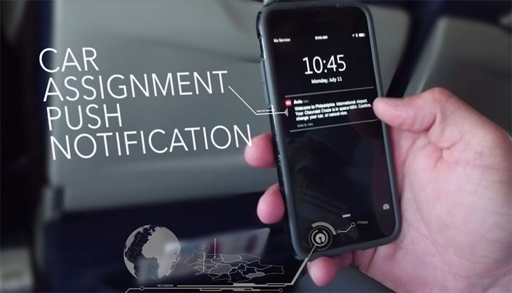 Avis Now users can change car assignments based on real time availability. (Image: Avis)