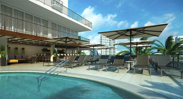 The pool at the Hilton Garden Inn Waikiki in Honolulu. (Image: Hilton)