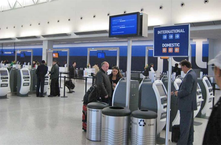 JetBlue has added more self-service options at its New York JFK Terminal 5 home base. (Image; JetBlue)
