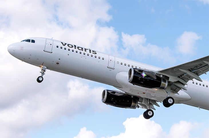 Mexico's Volaris will start San Francisco-Mexico City flights this fall. (Image: Volaris)