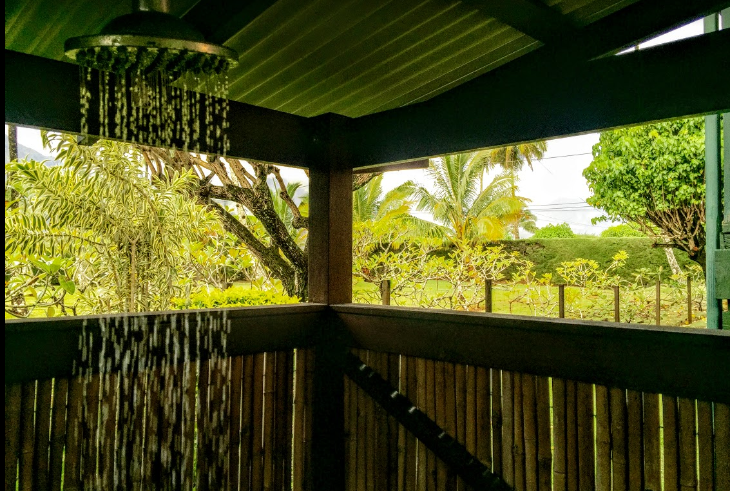 Outdoor shower Kauai